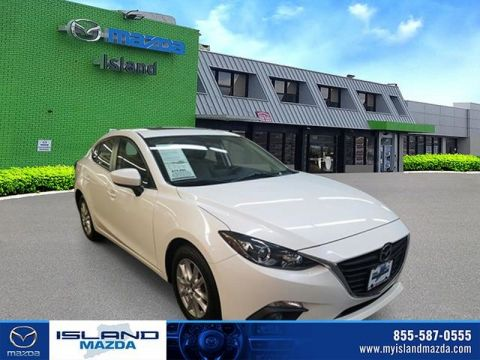Pre-Owned 2015 Mazda3 i Grand Touring Front Wheel Drive Sedan