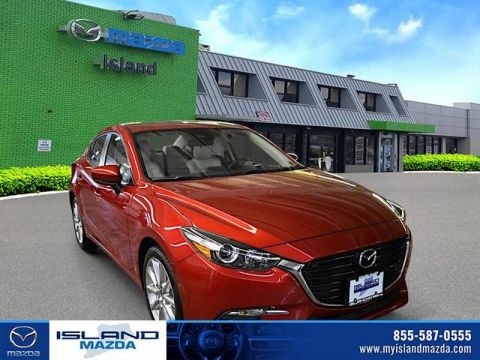 Pre-Owned 2017 Mazda3 4-Door Grand Touring Front Wheel Drive 4dr Car